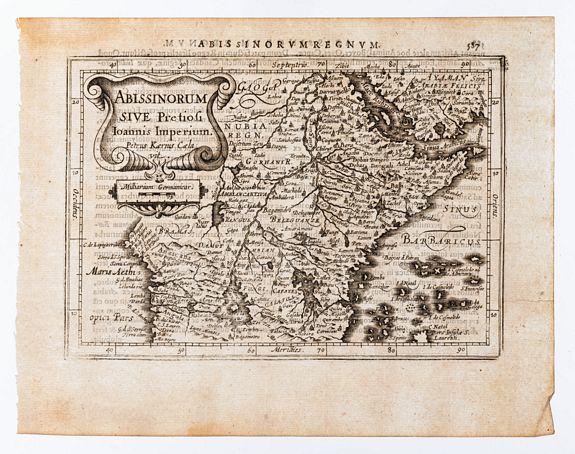 MERCATOR, G. /HONDIUS, J. -  Abissinorum Sive Pretiosi Ioannis Imperium.
