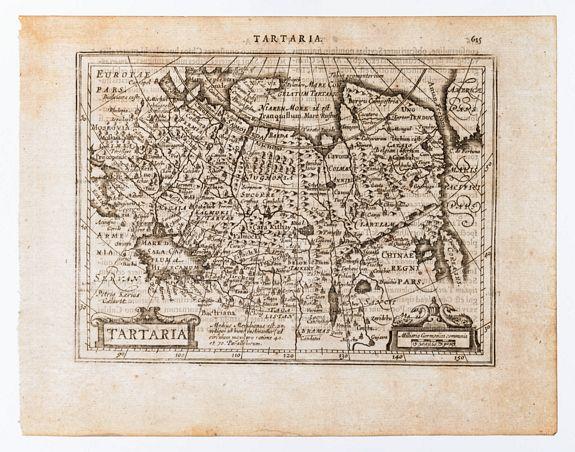 [MERCATOR, Gerard & HONDIUS, Jodocus]. KEERE, Piet -  Tartaria.