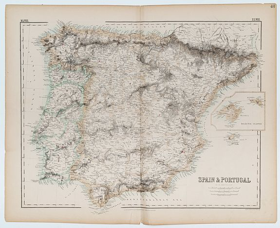SWANSTON, G.H. -  Spain & Portugal.