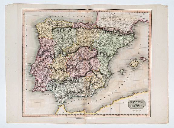 THOMSON, John. -  Spain and Portugal.