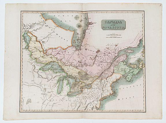 THOMSON, John. -  Canada and Nova Scotia.