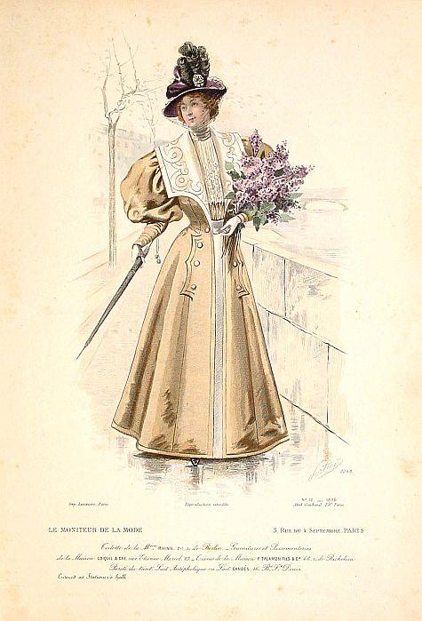 LARIVIÈRE. -  Paris fashion plate. (3248)
