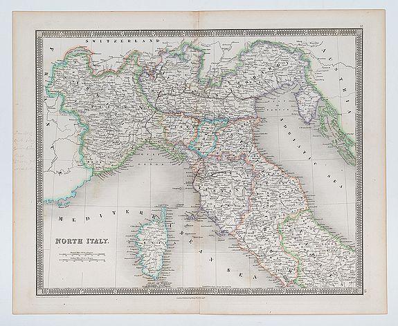 DOWER, J. -  North Italy.