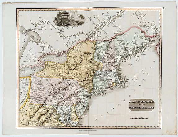 THOMSON, John. -  Northern Provinces of the United States.