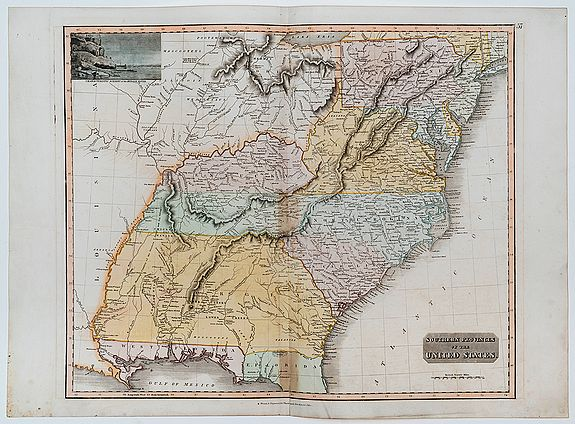 THOMSON, John. -  Southern Provinces of the United States.