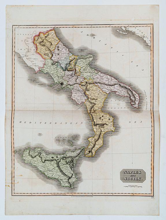 THOMSON, John. -  Naples and Sicily.