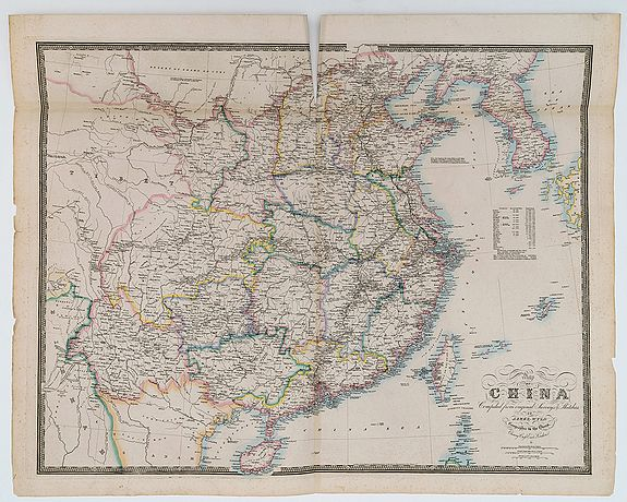 WYLD, James -  China, compiled from original Surveys & Sketches.