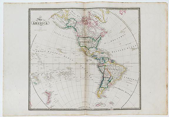 WYLD, James. -  Map of America.