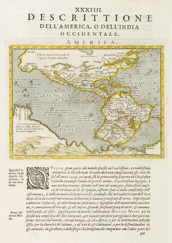MAGINI, G.A. -  America.