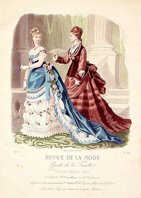 REVUE DE LA MODE -  Paris fashion plate. (164)