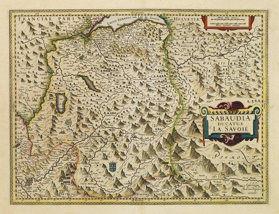MERCATOR,G./ HONDIUS,J. -  Sabaudia ducatus La Savoie.