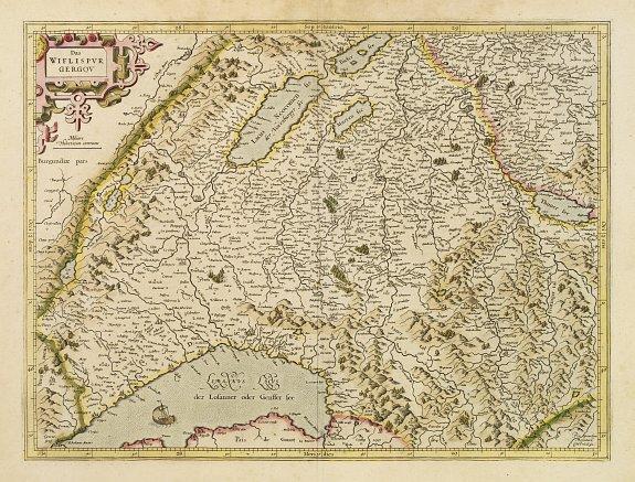 MERCATOR, G. / HONDIUS, J. -  Das Wiflispurgergov.