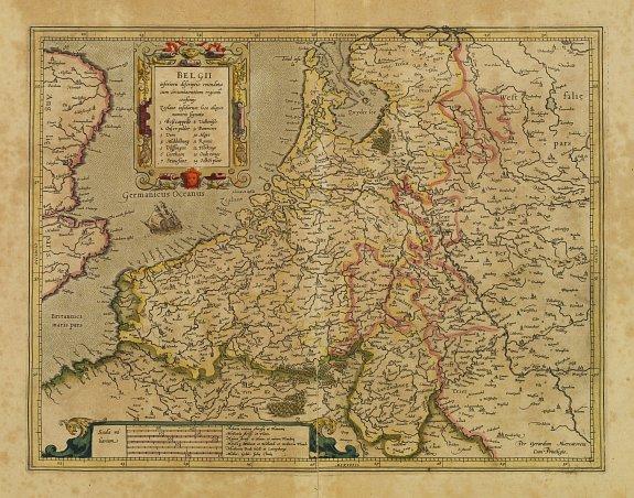 MERCATOR,G./ HONDIUS,J. -  Belgii inferioris descriptio..