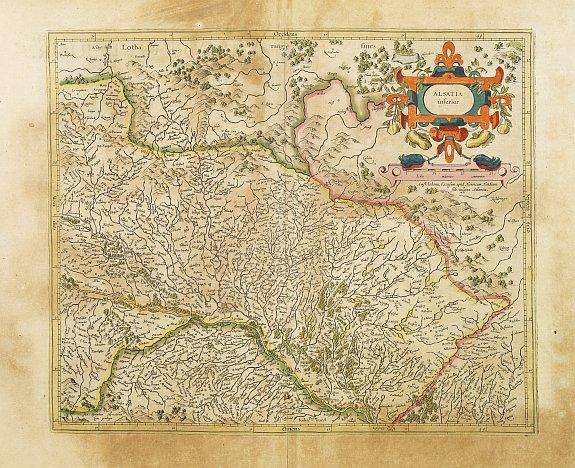 MERCATOR, G. / HONDIUS, J. -  Alsatia inferior