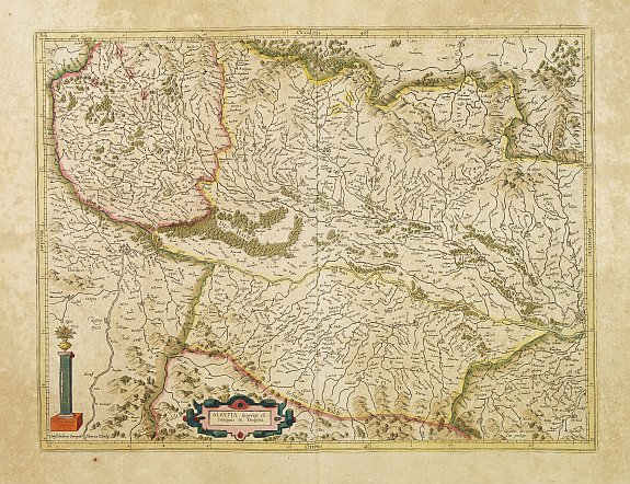 MERCATOR,G./ HONDIUS,J. -  Alsatia superior..