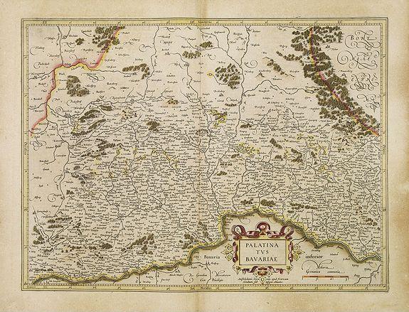 MERCATOR, G./ HONDIUS, ,J. -  Palatinatus Bavariae.
