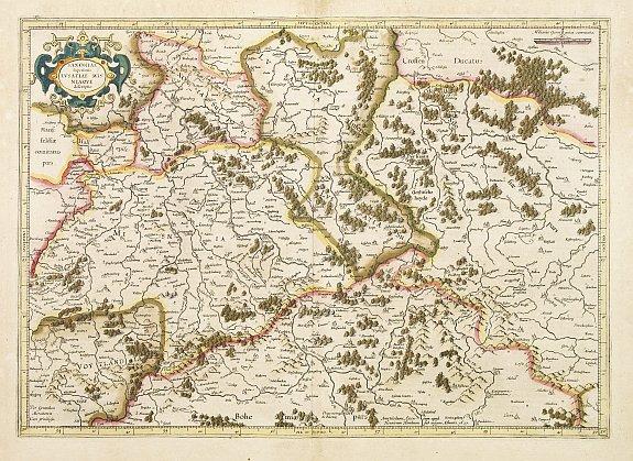 MERCATOR,G./ HONDIUS,J. -  Saxonia Superioris Lusatiae..