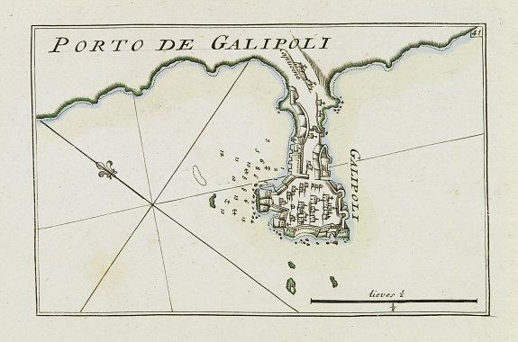 ROUX,J. -  [41] Porto de Galipoli.