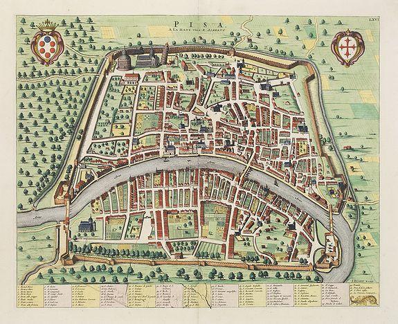 BLAEU, J. / MORTIER, P. / ALBERTS, R. -  Pisa.