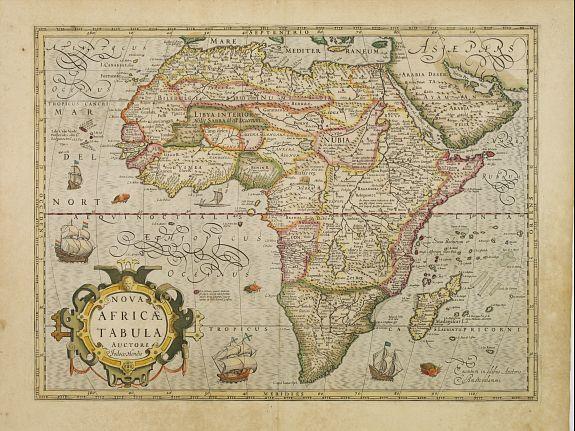 MERCATOR, G. / HONDIUS, J. -  Nova Africae Tabula.