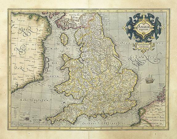 MERCATOR, G. / HONDIUS, J. -  Anglia regnum.