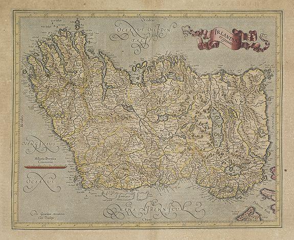 MERCATOR, G. / HONDIUS, J. -  Irlandiae Regnum.