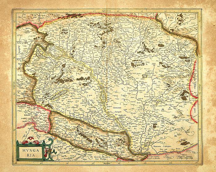 MERCATOR, G. / HONDIUS, J. -  Hungaria.