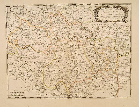 SANSON, N. / MARIETTE, P. -  Gouvernement General du Lyonnois..