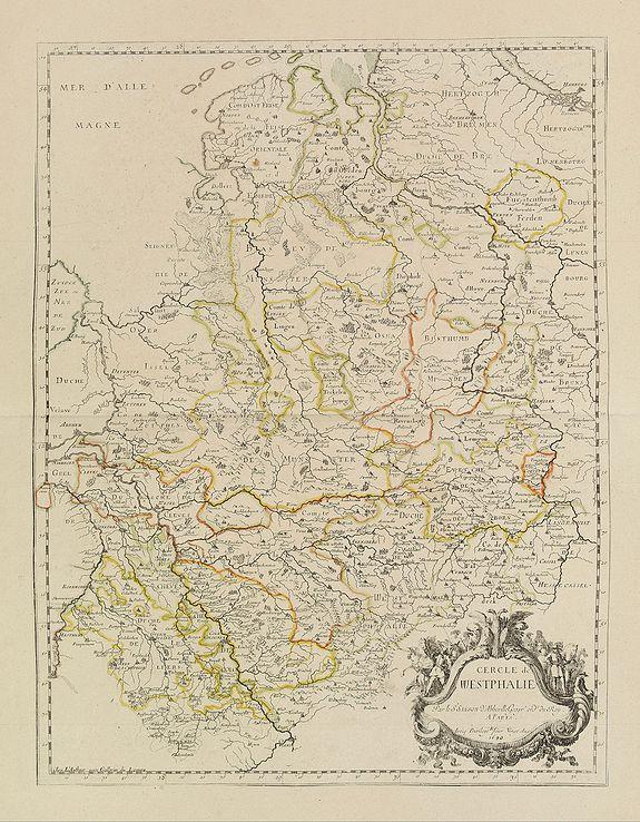 SANSON, N. / MARIETTE, P. -  Cercle de Westphalie.