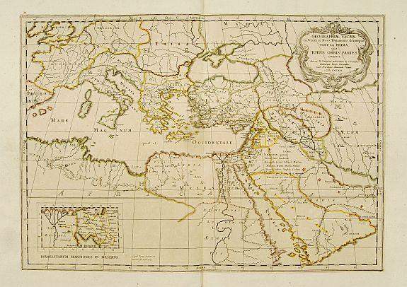 SANSON,N./ MARIETTE,P. -  Geographiae Sacrae .. Totius Orbis Partes..