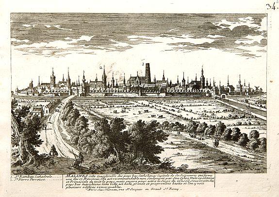 CHEREAU, F. & J. -  Malines. [Mechelen]