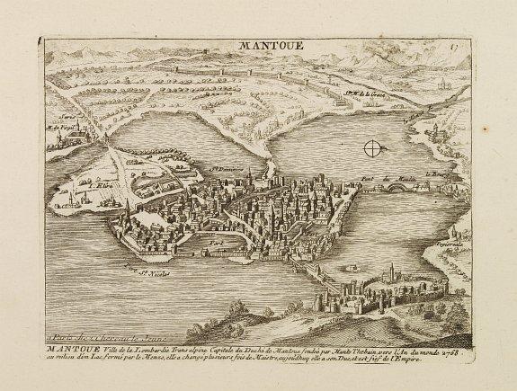 CHÉREAU, F. & J. -  Mantoue Ville de la Lombardie Transalpine.