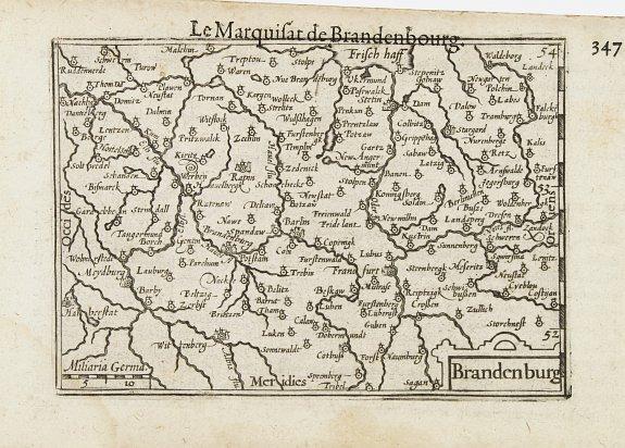 LANGENES, B. -  Brandenburg / Marquisat de Brandebourg.