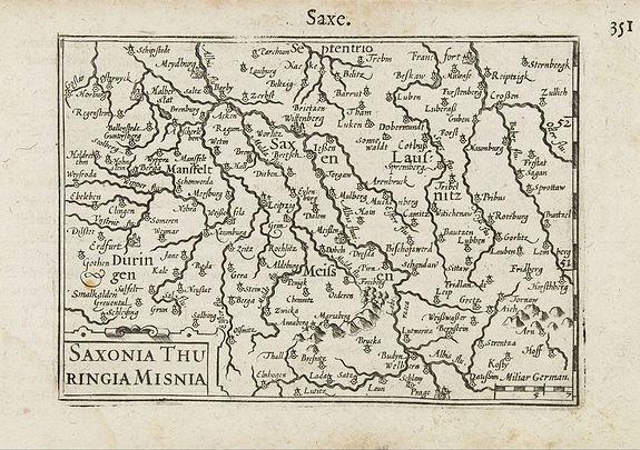 LANGENES,B. -  Saxonia / Thuringia / Misnia.