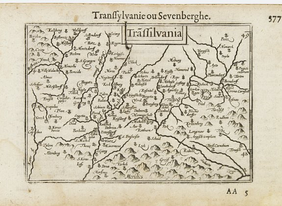 LANGENES, B. -  Trassilvania / Transilvanie / Sevenberghe.