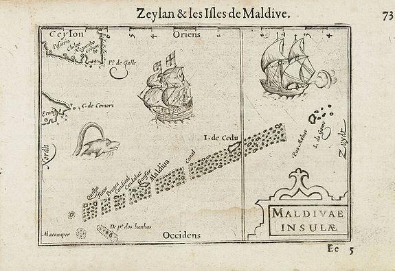 LANGENES, B. -  Maldivae Insulae.