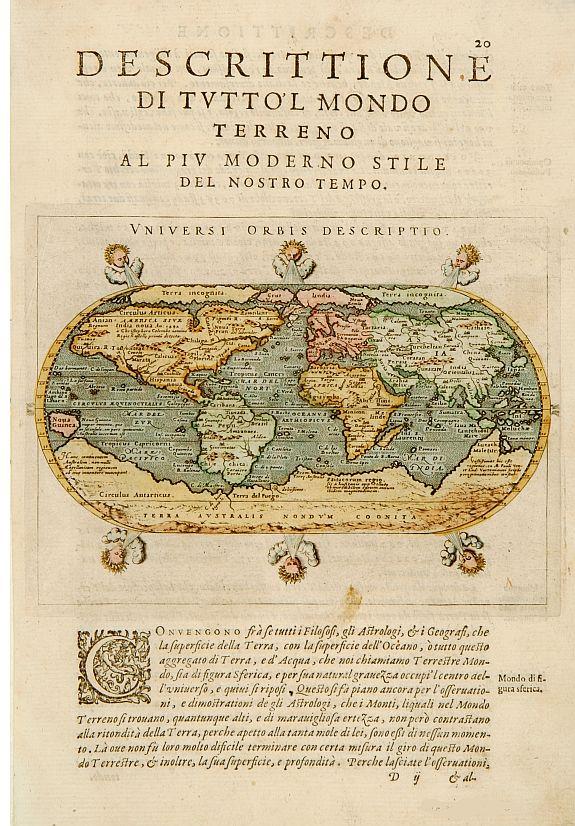 PORRO,G./ MAGINI,G. - Universi Orbis Descriptio.