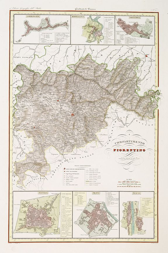 STANGHI, V. -  Compartimento Fiorentino. (Florence)
