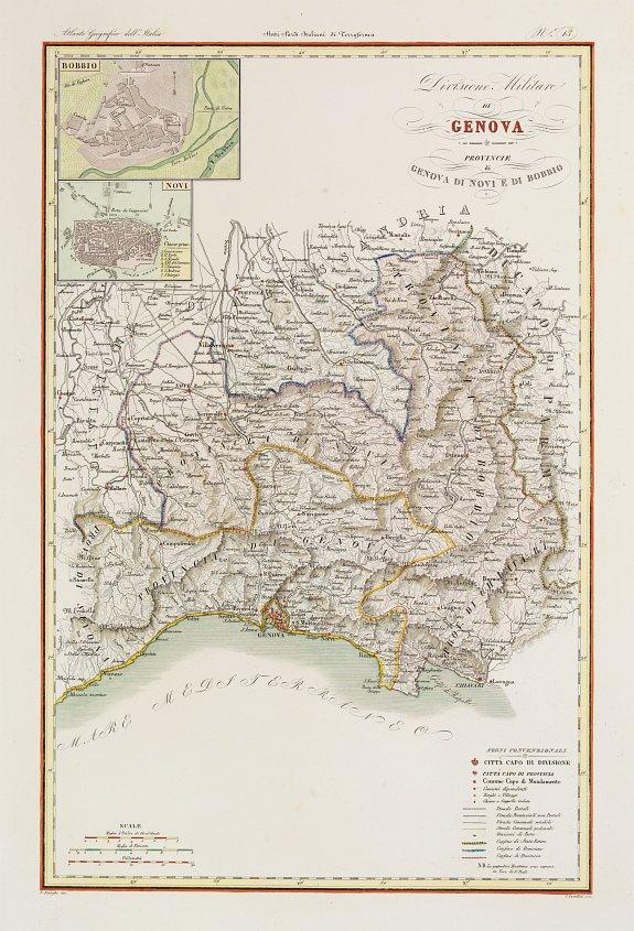 STANGHI,V. -  Divisione Militare di Genova. Bobbio / Novi.