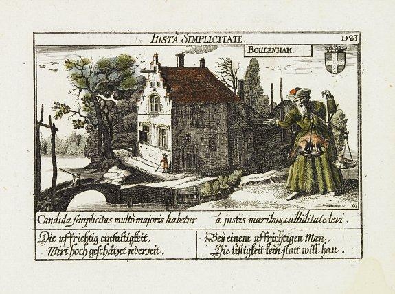MEISNER, D. -  Boulenham. [ Burg Boelenham in Betuwe ]