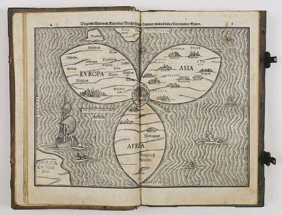BÜNTING, H. -  Itinerarium sacrae scripturae. . .