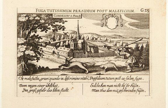 MEISNER, D. -  Cordelirs in Franckr. [France].