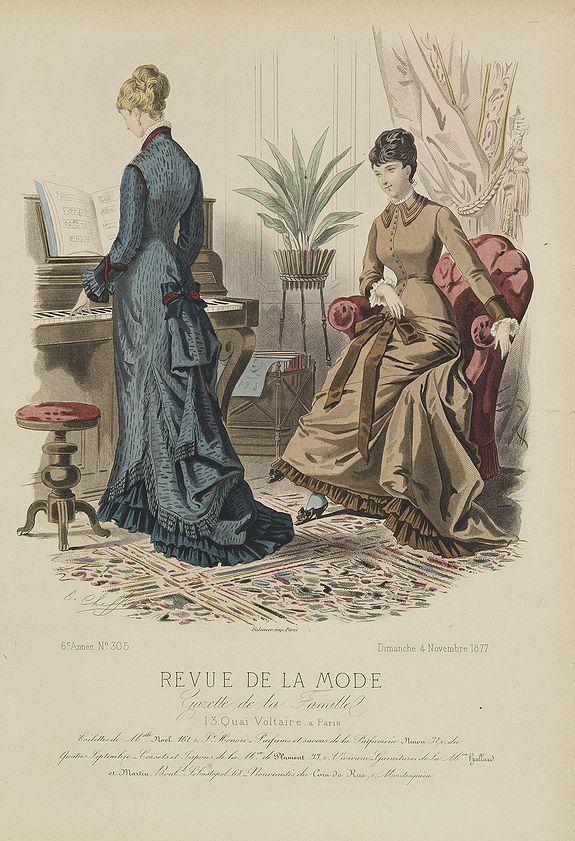 REVUE DE LA MODE -  Paris fashion plate. (305)