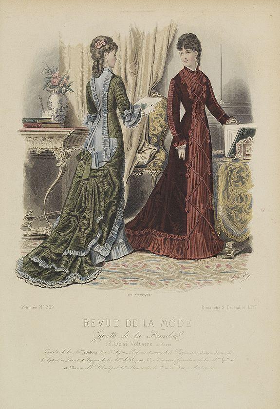 REVUE DE LA MODE -  Paris fashion plate. (309)