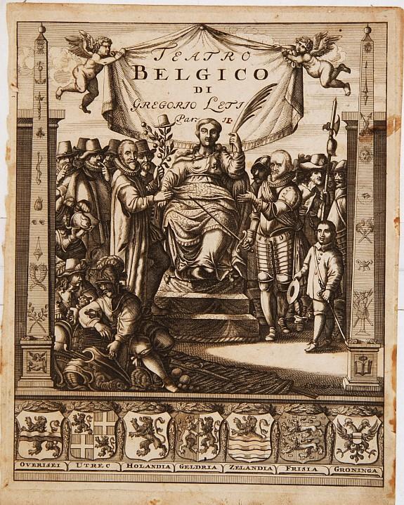 LETI, G. -  Teatro Belgico. [Title page ]