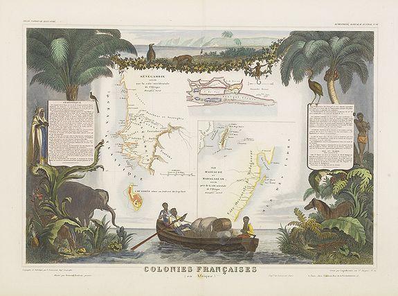 LEVASSEUR, V. -  Colonies Françaises (en Afrique).