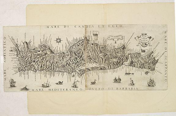 BOSCHINI, M -  Il Regno Di Candia.