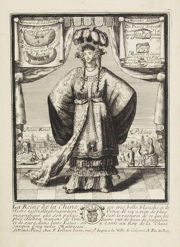 JOLLAIN, F. -  La Reine de la chine.