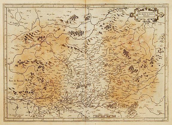 MERCATOR, G. / HONDIUS, J. - Burgundia Ducatus.