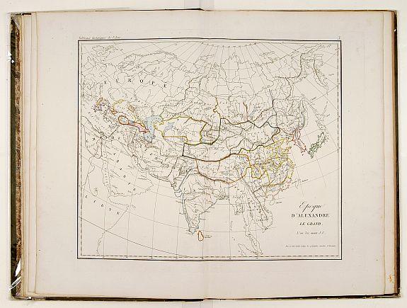 KLAPROTH, J. - Tableaux historiques de l'Asie..